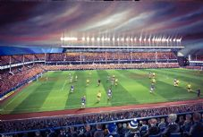 Everton v Arsenal 1985 - 20'' x 30'' approx poster print